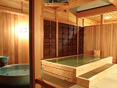 天然はまなす温泉の露天風呂